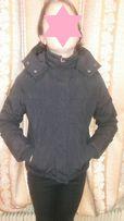 Теплая куртка для девочки 9-11 лет