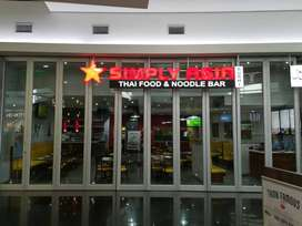 Simply Asia Restaurant for Sale in Galleria Mall