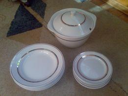 Супница, тарелки