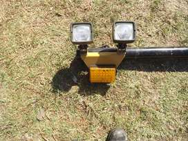 Light Bar for TLB or other Construction Equipment