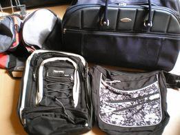 Plecaki , torby , walizki