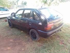 Hi I'm selling my Ford Laser body parts