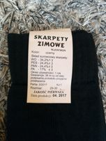 Skarpety skarpetki wojsko mon zimowe rozmiar 29-30 ,27-28