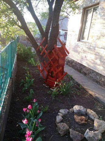 Мельница, декор в сад