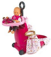 2 ПО ЦЕНЕ 1 Раскладной Чемодан уход за куклой Baby Smoby 220316