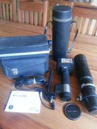 Image of Vintage Soligor 100-300mm Lens+Sunpark 3400 Flash -R1500 (see pics)
