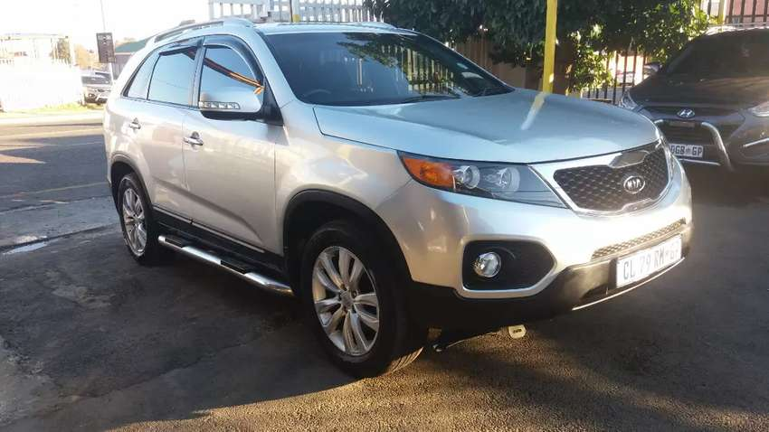 2012 Kia sorento 3.5 v6 automatic leather interior 0