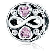 25. Charms Koralik pasującą na bransoletkę Pandora–Nieskończoność