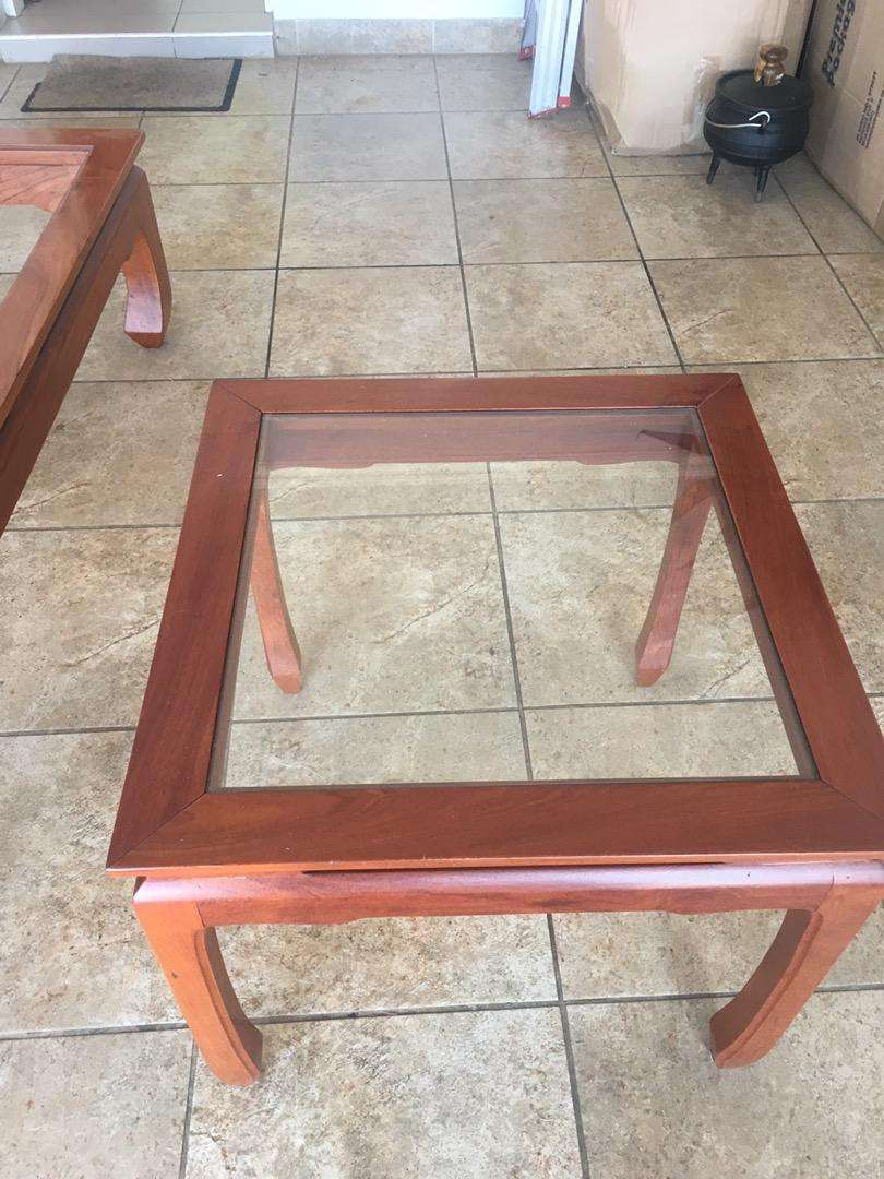 Solid Rosewood tables