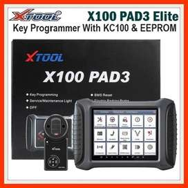 XTOOL X100 PAD3 Elite Professional Tablet Key Programmer With KC100 &