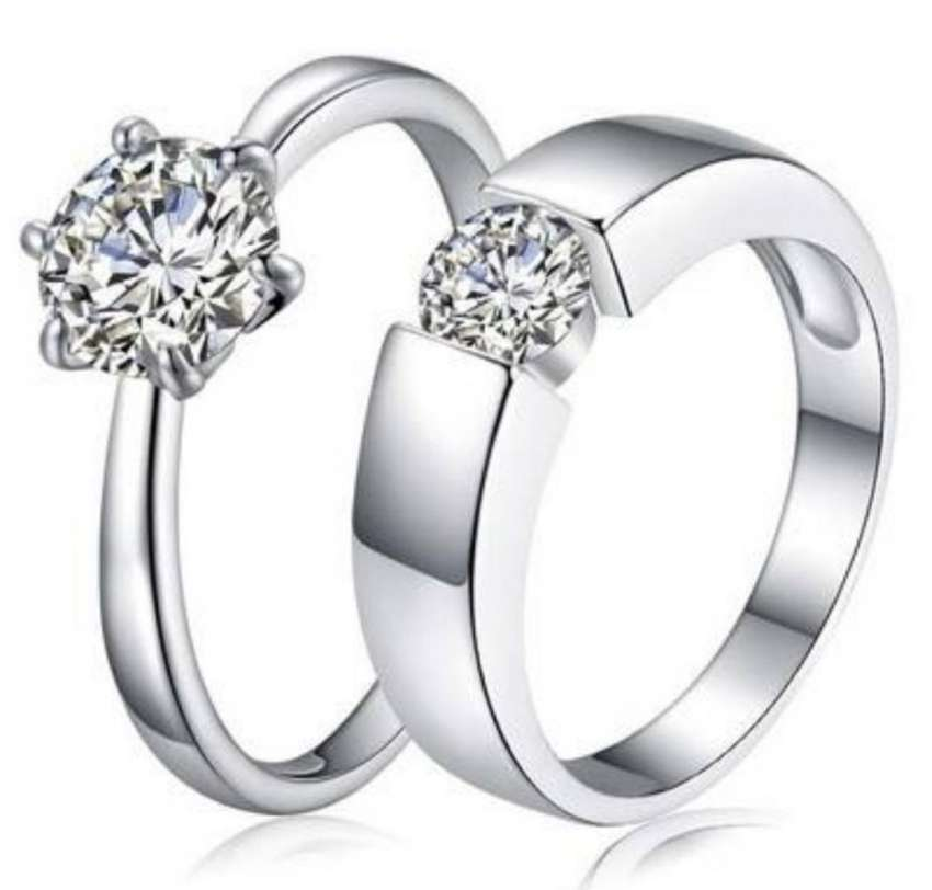 Silver engagement rings 0
