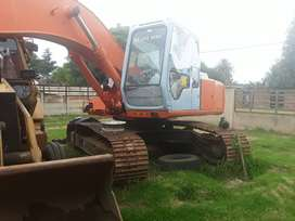 20t Hitachi excavator ex200-2  isuzu motor refurbished bucket100%