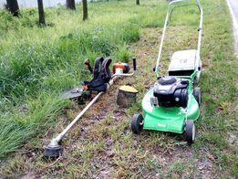 Покос травы, бурьяна, стрижка газона, уборка травы, расчистка участка.