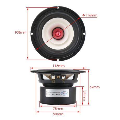 Głośnik wysokotonowy DROK 15W 6 ohm średnica 116mm Świecie - image 4