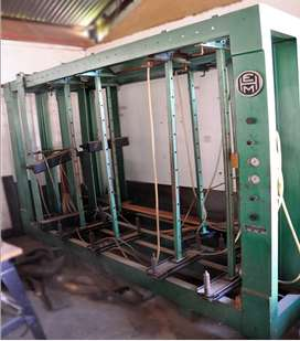 EHM Pneumatic Carcass Press
