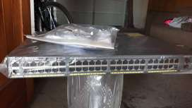 Brand New Cisco Catalyst 2960-X series switches in box opened just to