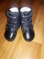 Продам ортопедические кожаные зимние детские ботинки