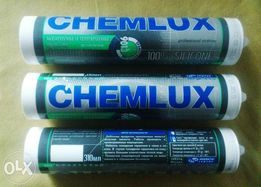 Клей силиконовый 300 мл до 3500л прозр. и черн /CHEMLUX 9013 Германия