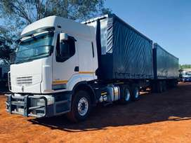 Combo , MAN TGS 27-440 WITH Henred trailer