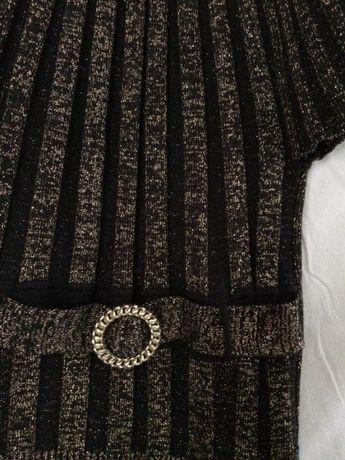 Новый джемпер, кофта, туника с люрексом Еscamode. 50% шерсти Киев - изображение 3