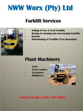 Forklifts and Plant Machinery