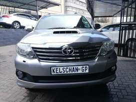 Toyota fortuner D4D 3.0ltrs Automatic