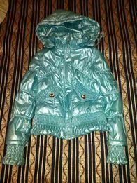 Куртка демисезонная на рост 140-146 см