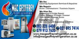 MAC GEOFFREY REFRIGERATION   AIR-CON  AND APPLIANCE REPAIRE