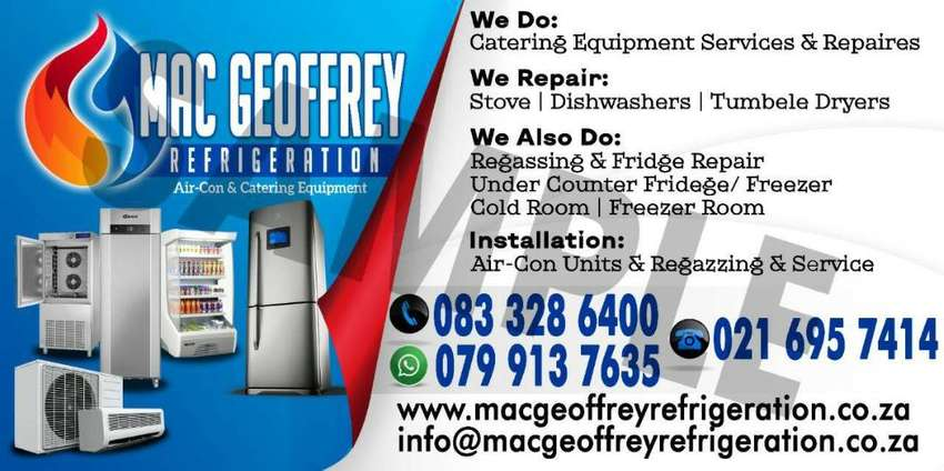 MAC GEOFFREY REFRIGERATION   AIR-CON  AND APPLIANCE REPAIRE 0