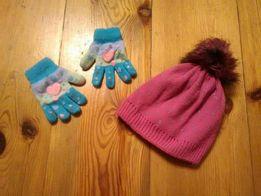 Rękawiczki i czapka