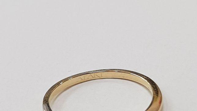 Apart! Przepiękny pierścionek + brylant 0.04 CT/ 585/ 1.39g/ R10 Gdynia - image 4