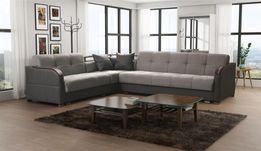 Duża kanapa narożnikowa - FUTURO