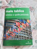 Małe tablice język polski, literatura polska, wiedza o społeczeństwie