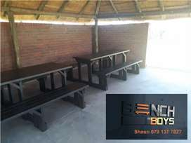 Picnic and braai benches
