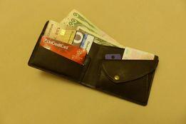 Кожаный кошелёк (портмоне) ручной работы