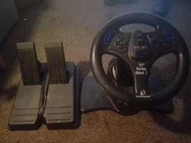 racing weel for play station 2