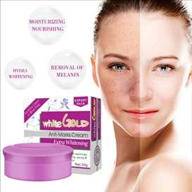 White Gold Beauty Cream, face wash, soap and more