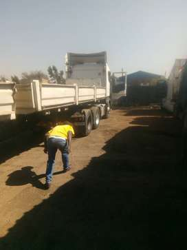 Afrit trailer with boards for sale