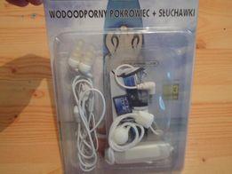 Słuchawki wodoodporne do telefonu , mp3 z etui