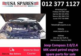 Jeep Compass 2.0/2.4 MK 2007-77 petrol used engine spare parts