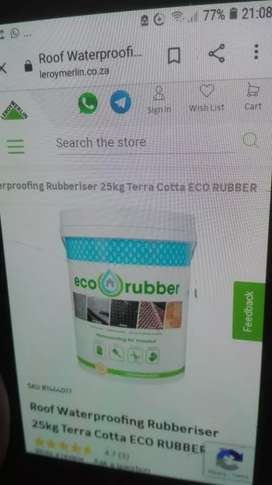 ECO RUBBER YOUR ROOF. NO MATTER WHATS ON YOUR ROOF