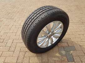 Amarok mag and tyre (Brand New)