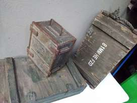 Military Ammunition Boxes (One lot)