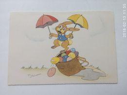 редкие пасхальные открытки 45 - 50 годов ( +бонус)