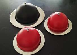 Cake & muffin Domes Set of 3 - R120