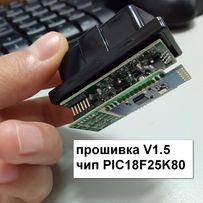 сканер ELM327 V1.5, PIC18F25K80, obd2 диагностика тестер, ВАЗ