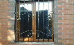 решетки на окна , решетчатые двери