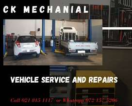 Vehicle Service and Repairs  CK Mechanical