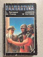 Książka Jankes w Rzymie L. Sprague de camp