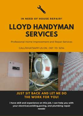 we specialize in electrical and plumbing repair